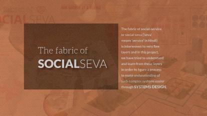 The Fabric of SocialSeva